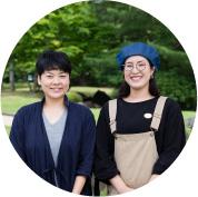 長谷川 真弓さん、齊藤 遥さん